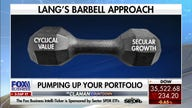 Inside the 'barbell approach' of cyclical value and secular growth stocks
