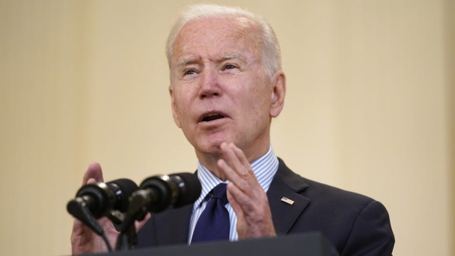 Biden on April jobs: We're still digging out of economic collapse