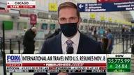 New COVID rules for international travel starting Nov. 8