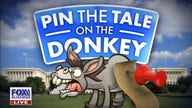 'Kennedy' panel plays America's favorite political game 'Pin the Tail on the Donkey'