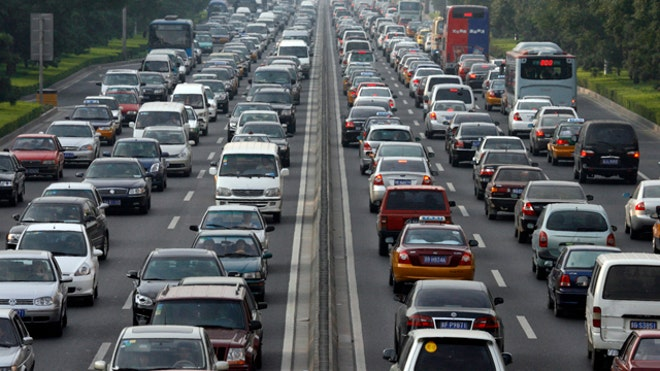Cars in Traffic Reuters