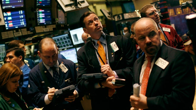 NYSE Traders Gathered