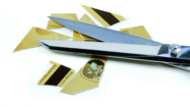 Credit Card Cut Scissors (FBN)