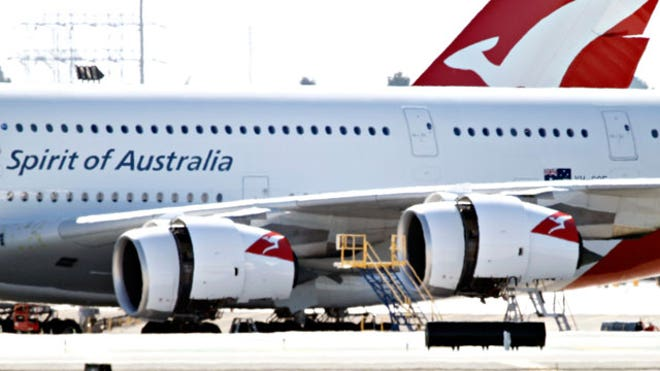 Two Qantas A380 Superjumbo Jets Sit Idle