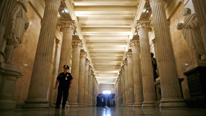 U.S. Capitol Building Inside