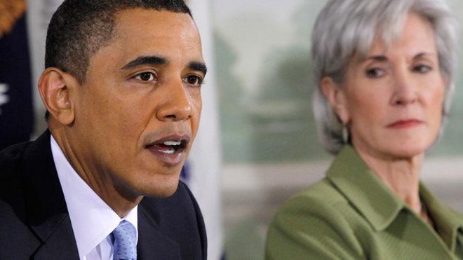 President Obama, POTUS, Obama, Kathleen Sebelius, Sebelius