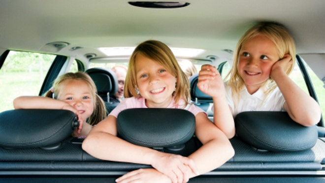 Children Traveling by Car (FBN)