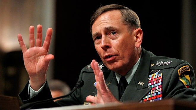 Former U.S. Forces Commander David Petraeus