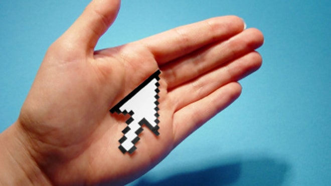 Digital Hand Mouse Pointer Computer