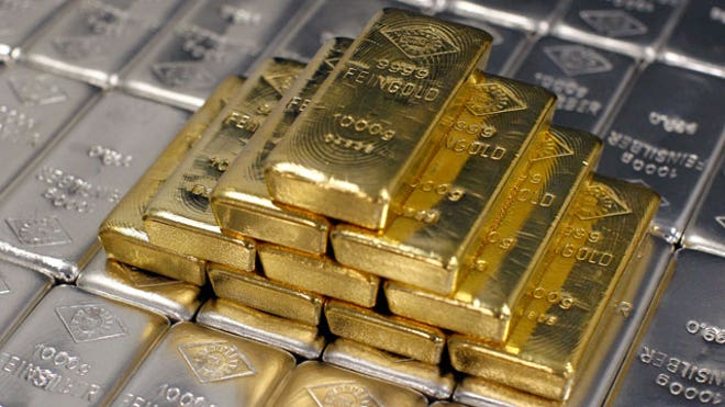 Gold and Silver Bars, Commodities, Reuters