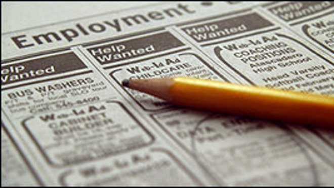 Help Wanted Newspaper 2 FBN Unemployment Hiring