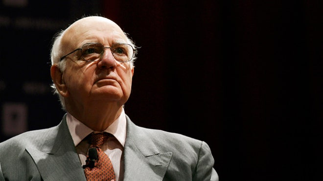Obama Economic Advisor Paul Volcker