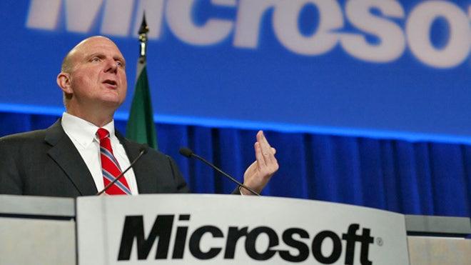 Steve Ballmer, Microsoft CEO