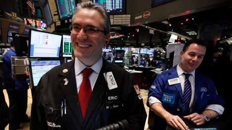 U.S. stocks were on pace to close out their best week in nearly two years on Friday, helped by earnings from Microsoft and Procter  Gamble and as concerns eased over the possible spread of Ebola.