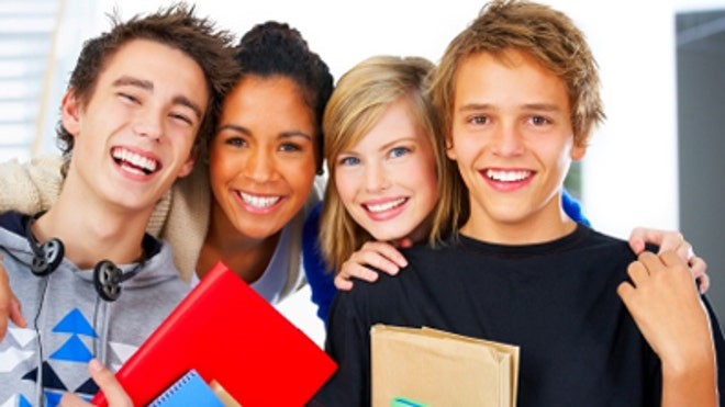 Group of teenagers iStock