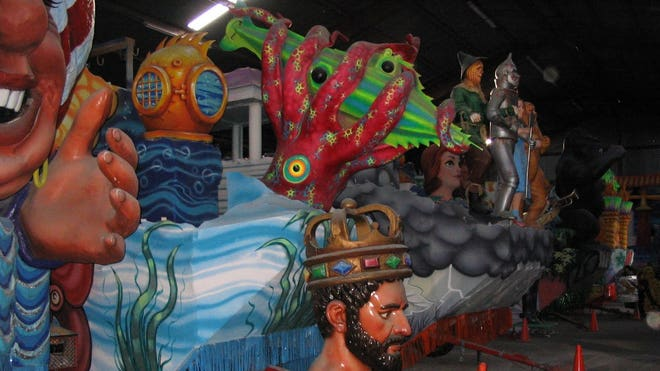 Mardi Gras Floats