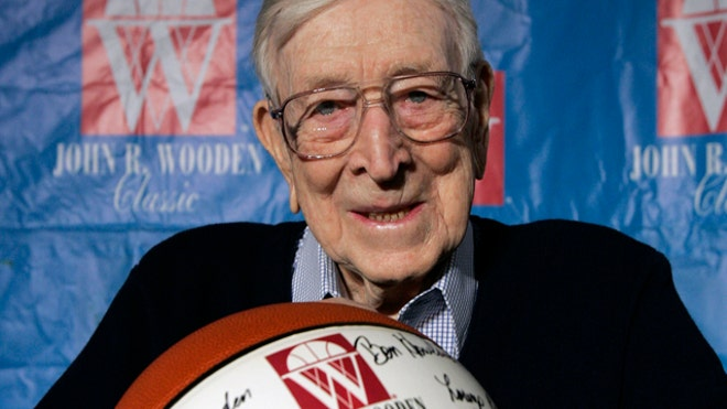 Legendary UCLA Coach John Wooden