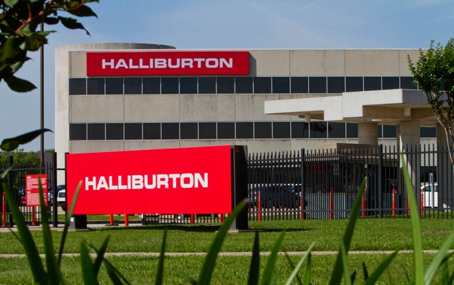 financial analysis of halliburton