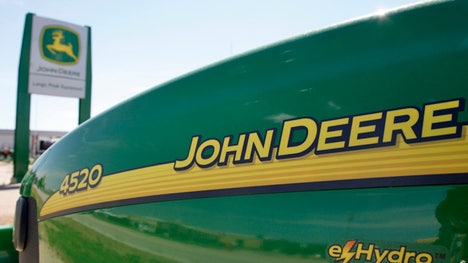 Deere  Co reported a Q profit of $. per share, topping the estimate for $.. Revenue of $. billion, also beat the estimate for $. billion.