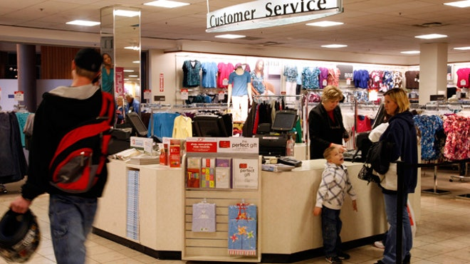 Customer Service Desk Cashier Retail 01