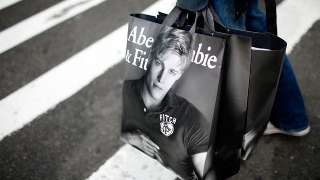 Abercrombie Fitch Shopping Bags