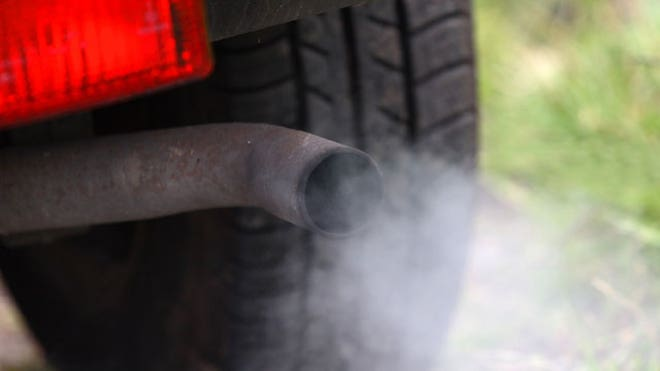 Auto-Emissions-Exhaust