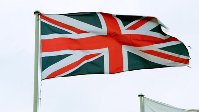 British United Kingdom Flag
