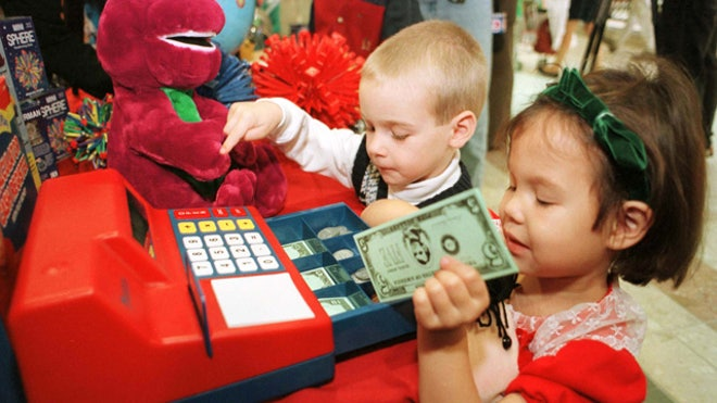 Children-Kids-Playing-Toys-Money-Barney