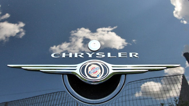 Chrysler Logo Decal