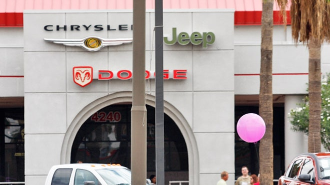 Chrysler Jeep Dodge Auto Dealership