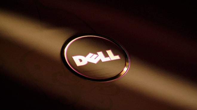 Dell Logo on Laptop 01