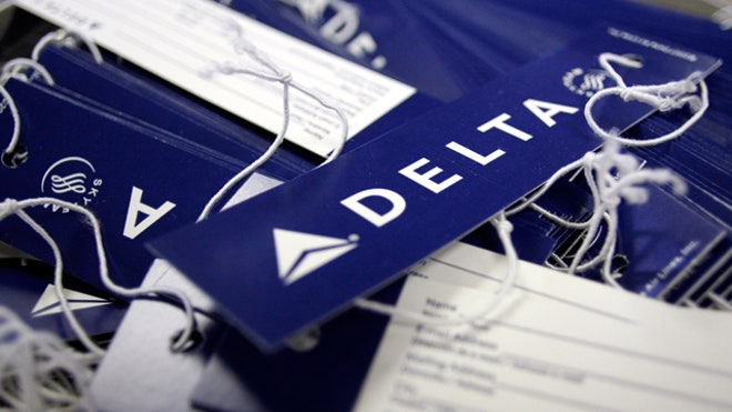Delta Air Lines Luggage Tags