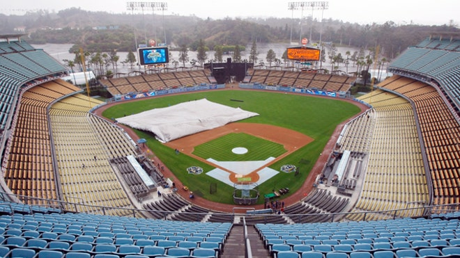 Dodgers Stadium Empty