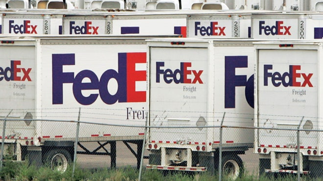 FedEx-Delivery-Trucks