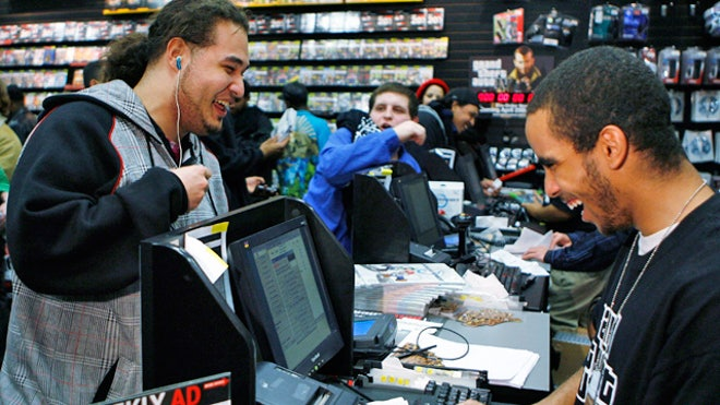 GameStop Register With Employee