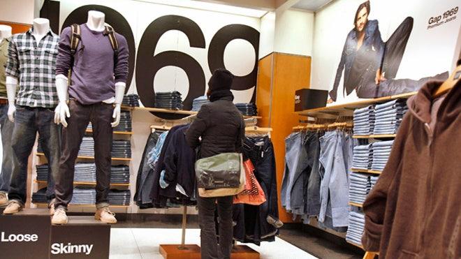 Gap Apparel Retail Store 01