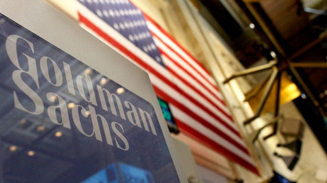 Goldman Sachs Sign at NYSE