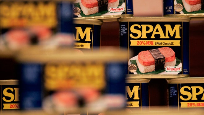 Hormel Foods Spam Containers