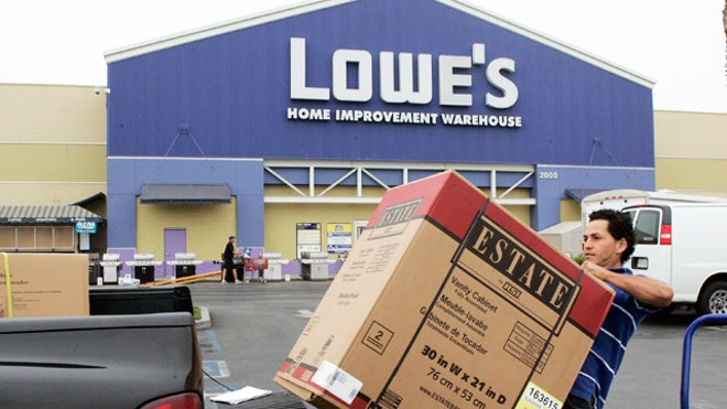 Lowes-Man-Loads-Truck-Home-Improvement-Retail-Store