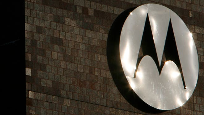 Motorola Logo at Corporate Headquarters