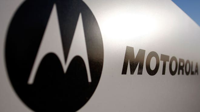 Motorola Logo on Sign
