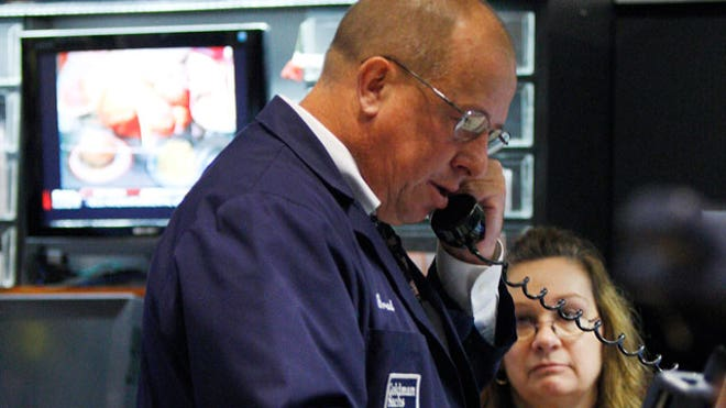 NYSE Trader 034 on Phone