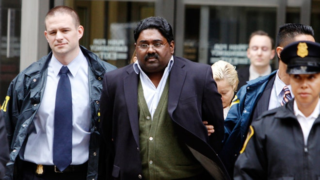 Raj Rajaratnam Arrested