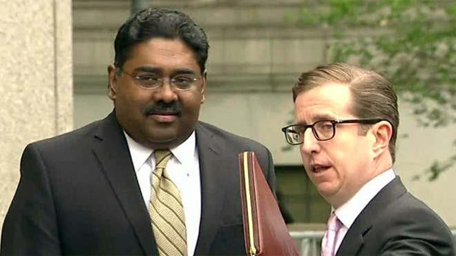 Raj Rajaratnam at Courthouse