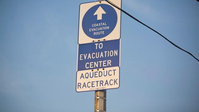 Rockaway-NY-Evac-Sign