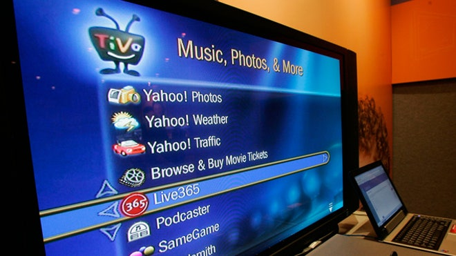 TiVo DVR TV Display