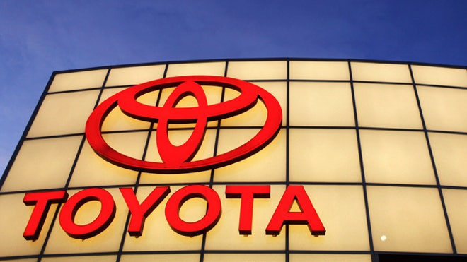 Toyota Logo Auto Dealership