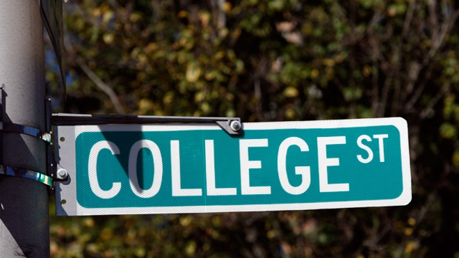 college-street-sign