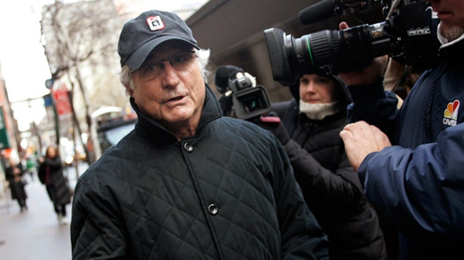 Madoff Walking to Apartment