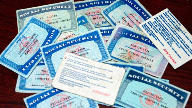 social-security-cards-collection
